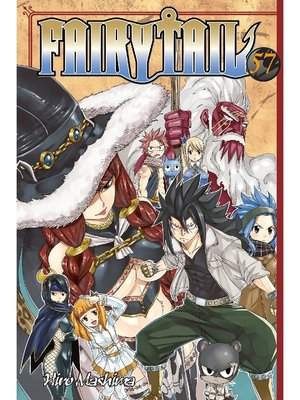 cover image of Fairy Tail, Volume 57